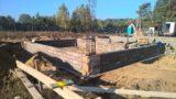 Budowa budynku remizy strażackiej w Krzyżu – etap I