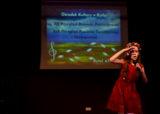 Młodzież śpiewała w Ośrodku Kultury w Rytlu